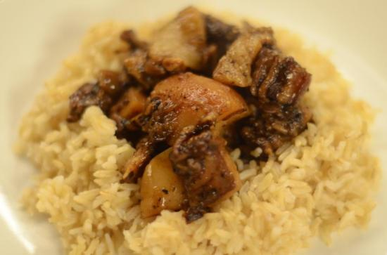 balsamic pork adobo